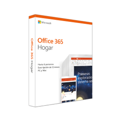 Imagen de MICROSOFT - OFF 365 HOME SPANISH SUBSCR 1YR LATAM ONLY MEDIALESS P4