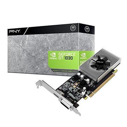 Imagen de PNY - TARJETA DE VIDEO PNY VCGGT10302 PB GT 1030 2G DDR5 DIV-HDMI LOW