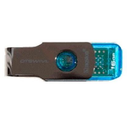 Imagen de PAQ. C/3 - KINGSTON - KINGSTON 16GB USB 3.0 SWIVL AZL .