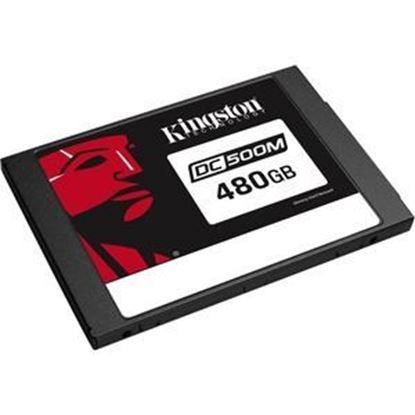 Imagen de KINGSTON - KINGSTON DISCO ESTADO SOLIDO SSD 480GB SATA 2.5 DC500M MIXED-USE
