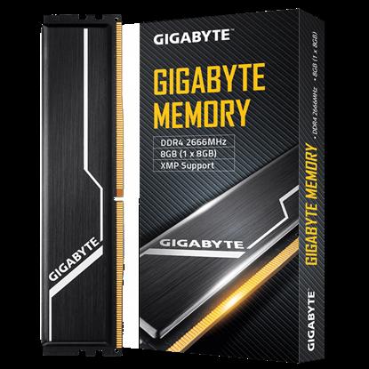 Imagen de COMARI - GIGABYTE 8G DIMM DDR4-2666 MHZ CL16 XMP 2.0 NEGRO