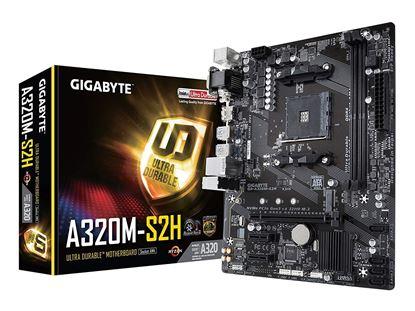 Imagen de COMARI - TARJETA MADRE GIGABYTE A320M S2 H MATX AMD AM4 2TH DDR4/VGA/HDMI