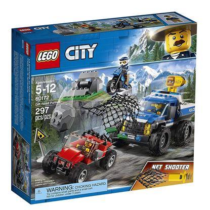 Imagen de LEGO - 60172 LEGO CITY DIRTY ROAD PURSUIT CAÑÓN LANZARREDES 497 PZAS