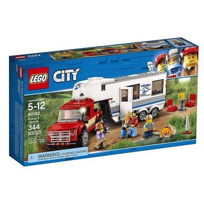 Imagen de LEGO - 60182 LEGO CITY PICKUP & CARAVAN CAMIONETA Y REMOLQUE 344 PZAS
