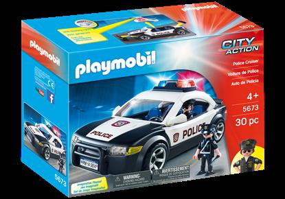 Imagen de PLAYMOBIL - 5673 CITY ACTION AUTO DE POLICIA