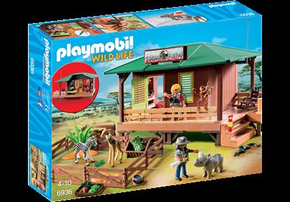 Imagen de PLAYMOBIL - 6936 WILD LIFE CLINICA VETERNIARIA DE AFRICA