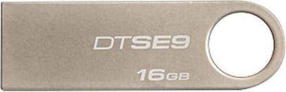 Imagen de PAQ. C/3 - KINGSTON - KINGSTON 16GB USB 2.0 DATATRAVE SE9 CHAMPAGNE