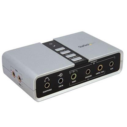 Imagen de STARTECH - TARJETA DE SONIDO 7.1 USB EXT. ADAPTADOR CONVERSOR PUERTO SPDIF.