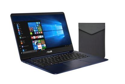 Imagen de ASUS - ZENBOOK 14 CI5-8250U 8GB/256 SSD W10H DARK BLUE C/FUNDA