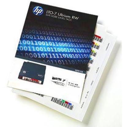Imagen de HP ENTERPRISE - HPE LTO-7 ULTRIUM RW BAR CODE LABEL PACK