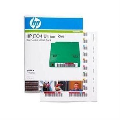 Imagen de HP ENTERPRISE - HPE LTO4 ULTRIUM RW BAR CODE LABEL PACK