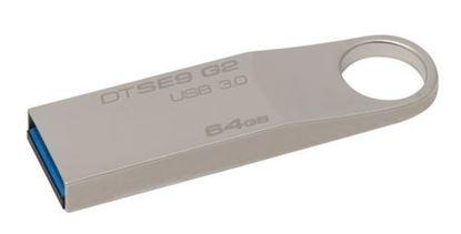 Imagen de KINGSTON - KINGSTON 64GB USB 3.0 DATATRAVE SE9 G2 METAL