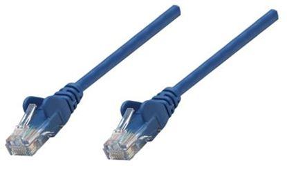 Imagen de IC - CABLE DE RED PATCH CAT6A RJ45 7.6M SFTP BLINDADO AZUL