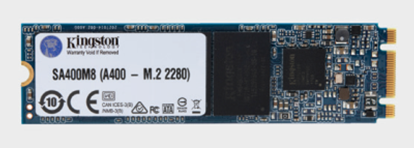 Imagen de KINGSTON - KINGSTON DISCO ESTADO SOLIDO SSD 120GB M.2 A400 PCLAP