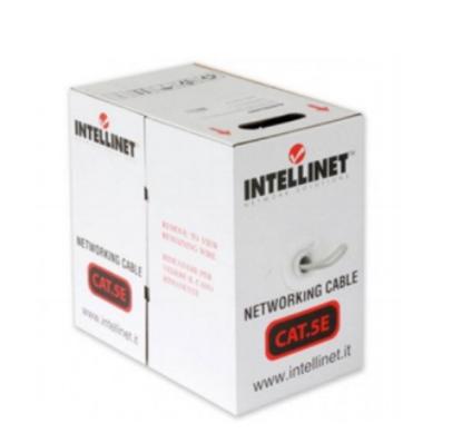 Imagen de INTELLINET - BOBINA CAT 5E CCA UTP 305M MULTIFILIAR GRIS