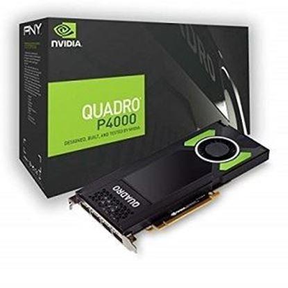 Imagen de PNY - TARJETA DE VIDEO PNY VCQP4000-P B QUADRO NVIDIA P4000 8GB GDDR5 CUD