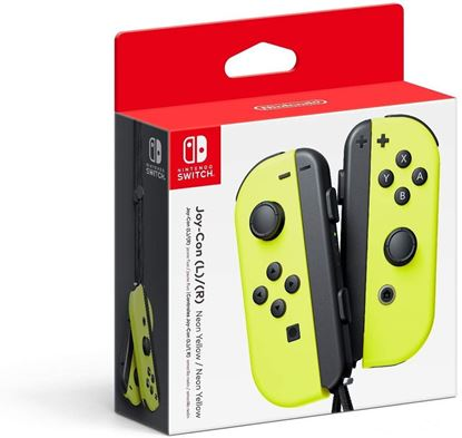 Imagen de NINTENDO - SWITCH JOY-CONTROL YELLOW (LºR) .