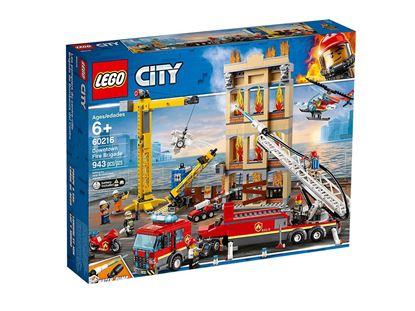 Imagen de LEGO - 60216 LEGO CITY DOWNTOWN FIRE BRIGADE 943 PZAS.