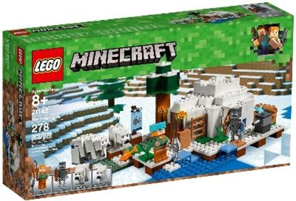 Imagen de LEGO - 21142 MINECRAFT THE POLAR IGLOO 278 PZAS.
