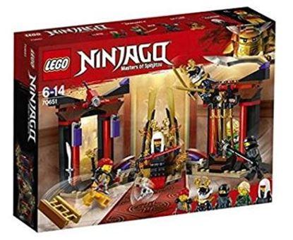Imagen de LEGO - 70651 NINJAGO THRONE ROOM SHOWDOWN 221 PZAS.