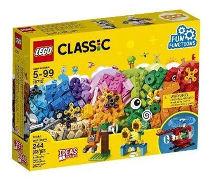 Imagen de LEGO - 10712 CLASSIC BRICKS AND GEARS 244 PZAS.