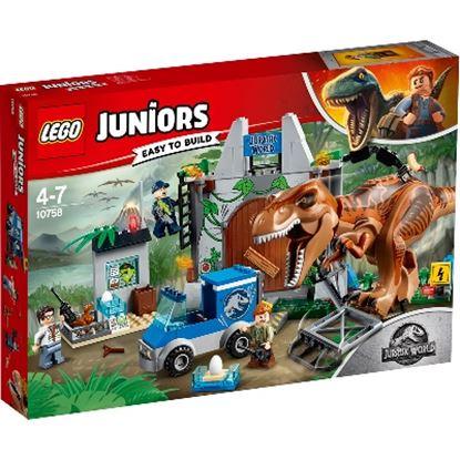 Imagen de LEGO - 10758 JUNIORS T. REX BREAKOUT 150 PZAS.