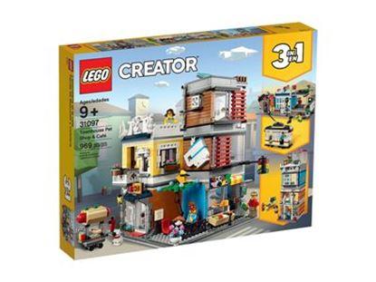 Imagen de LEGO - 31097 CREATOR 3 EN 1 TOWNHOUSE PET SHOP & CAFÉ 969 PZAS.