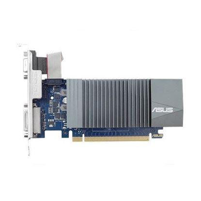 Imagen de ASUS - TARJETA DE VIDEO ASUS GT 710 2G DDR5 VGA/HDMI/DVI PCIE