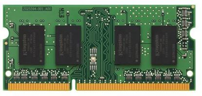 Imagen de KINGSTON - MEMORIA RAM KINGSTON 4GB1333MHZ DDR3 NON-ECC CL9 SODIMM 1RX8