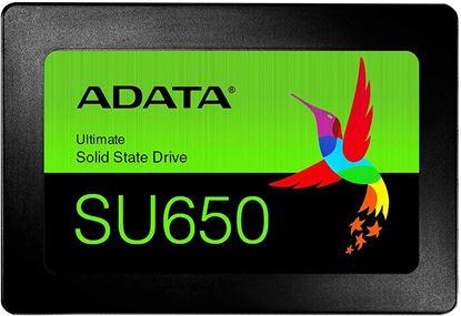 Imagen de ADATA - DISCO ESSTADO SOLIDO SSD ADATA SU650 480GB SATA III 2.5