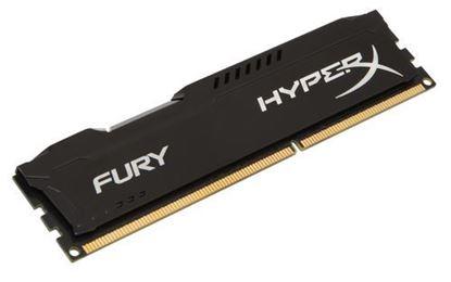Imagen de KINGSTON - KINGSTON MEMORIA 8GB DIMM DDR3- 1600 CL 10 HYPERX FURY NEGRO