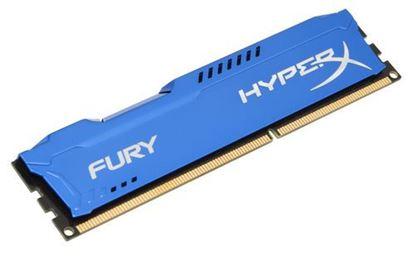Imagen de KINGSTON - KINGSTON MEMORIA 4GB DIMM DDR3 1600 CL 10 HYPERX FURY AZUL