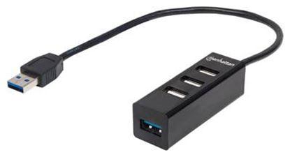 Imagen de IC - HUB USB V2.0 3 PTOS Y V3.0 1 PTO SIN FUENTE
