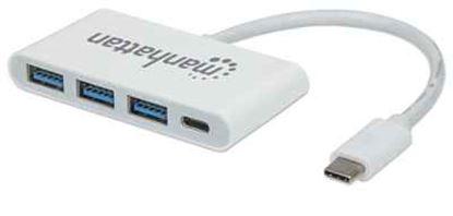 Imagen de IC - HUB USB-C 3 PTOS AH SIN FUENTE MAS 1 PTO CH DE ENERGIA