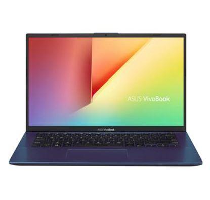 Imagen de ASUS - NB 14 R5-3500U 8GB/512GB SSD W10H PEACOCK BLUE VIVOBOOK