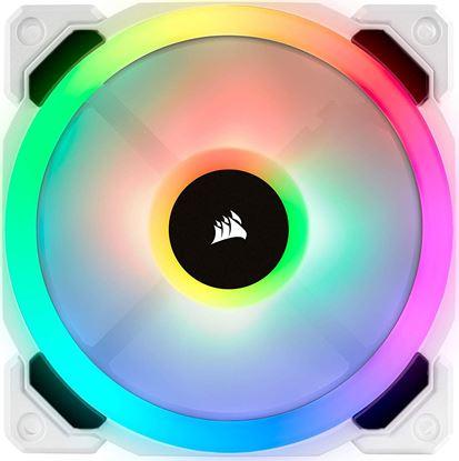 Imagen de KINGSTON - VENTILADOR CORSAIR 120MM RGB LED PWM BLANCO