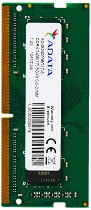 Imagen de ADATA - ADATA RAM 8G SODIMM DDR4-2400 MHZ UNBUFFERED CL17