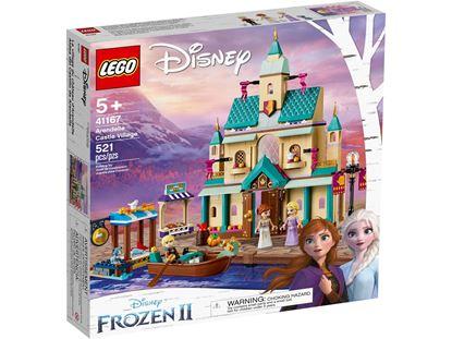 Imagen de LEGO - 41167 LEGO DISNEY ALDEA DEL CASTILLO DE ARENDELLE 521 PZAS.