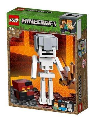 Imagen de LEGO - 21150 MINECRAFT BIGFIT MINECRAFT ESQUELETO CON CUBO 142 PZAS.