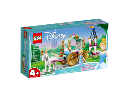 Imagen de LEGO - 41159 DISNEY CINDERELLA S CARRIAGE RIDE 91 PZAS.