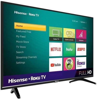Imagen de HISENSE - TV LED 43 HISENSE SMART ROKU 4K 3HDMI 1USB 2 A.GARANTIA