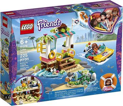 Imagen de LEGO - 41376 FRIENDS MISIÓN DE RESCATE TORTUGAS 225 PZAS.