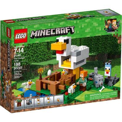 Imagen de LEGO - 21140 MINECRAFT EL GALLINERO 198 PZAS.