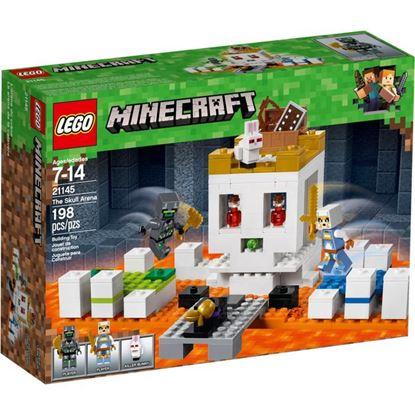 Imagen de LEGO - 21145 MINECRAFT LA CALAVERA DE LA LUCHA 198 PZAS.
