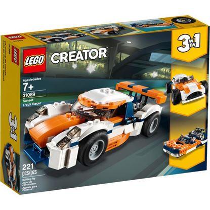 Imagen de LEGO - 31089 CREATOR 3 EN 1 DEPORTIVO DE COMPETICION SUNSET 221 PZAS.