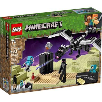 Imagen de LEGO - 21151 MINECRAFT LA BATALLA EN EL END 222 PZAS.