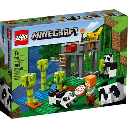 Imagen de LEGO - 21158 MINECRAFT EL CRIADERO DE PANDAS 204 PZAS.