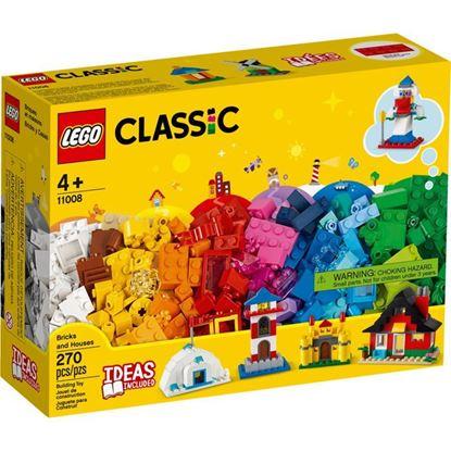 Imagen de LEGO - 11008 CLASSIC LADRILLOS Y CASAS 270 PZAS.