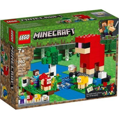 Imagen de LEGO - 21153 MINECRAFT LA GRANJA DE LANA 260 PZAS.