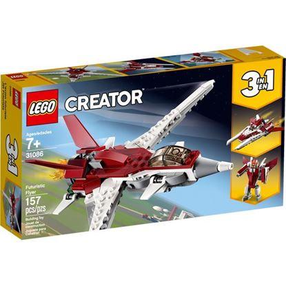 Imagen de LEGO - 31086 CREATOR 3 EN 1 REACTOR FUTURISTA 157 PZAS.